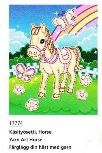 """Игрушка """"Лошадка"""" для обучения вышиванию"""