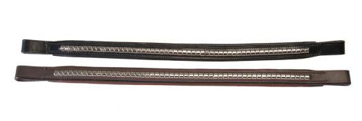 Налобные ремни W-Profile с серебряными заклепками