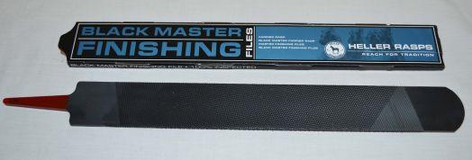 Рашпиль Black Master Finishing (Mustad) для финишной отделки копыт