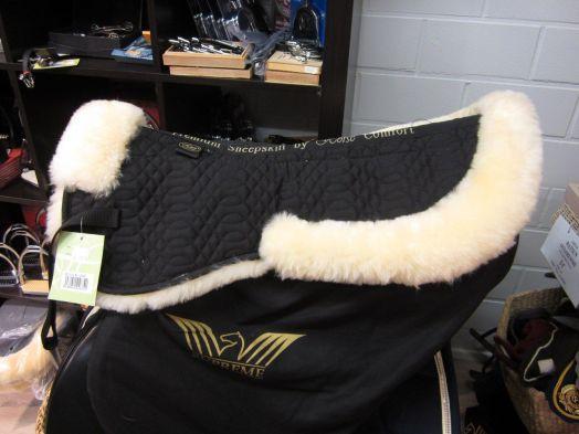 """Вальтрап """"Horse Comfort"""" под седло, НАТУРАЛЬНАЯ овчина."""