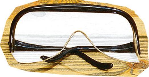Защитные очки Horse Comfort из пластика. Широкие. С эффектом антиблик.
