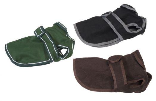 Зимняя попона  (пальто) для собак. Шерсть и утеплитель из флиса