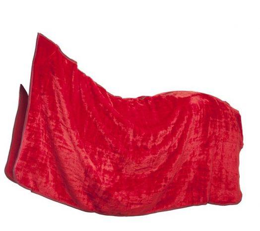 """Одеяло из  флиса """"под мех"""". Красный, синий, черный. Очень пушистое."""