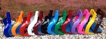 Стремена алюминиевые для пробегов цветные. Podium
