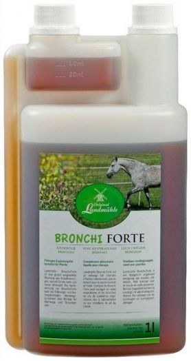 Original Landmühle Bronchi Forte.Травяной сироп для поддержки дыхательной системы 1 литр