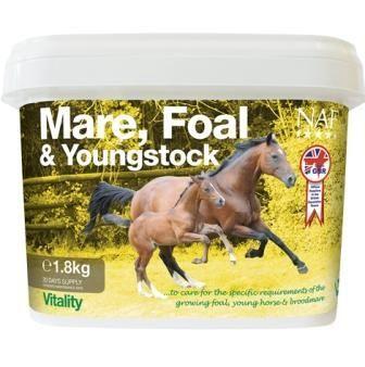 NAF Foal and Young stock. Подкормка для кобыл и жеребят 1,8 кг