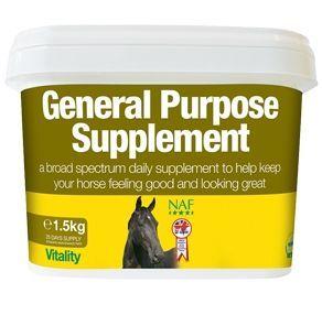 NAF General Purpose. Подкормка с клетчаткой витаминами и минералами. 3 кг